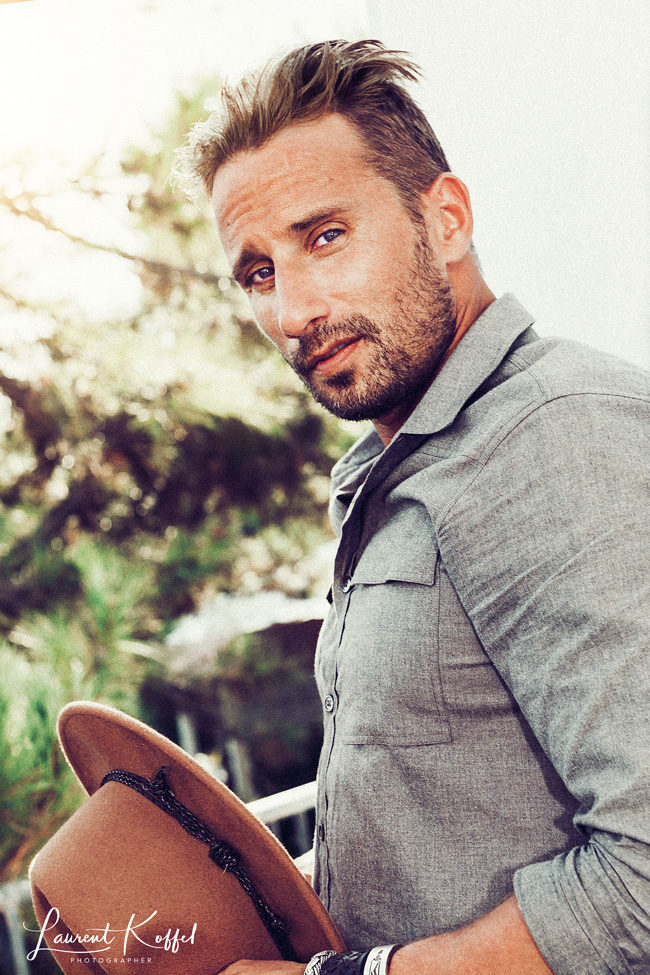 Matthias Schoenaerts by Laurent Koffel